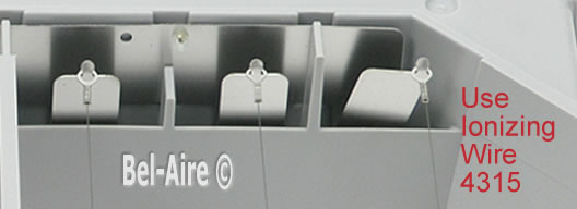 use Ionizing wire 4315 for the series one spring levers