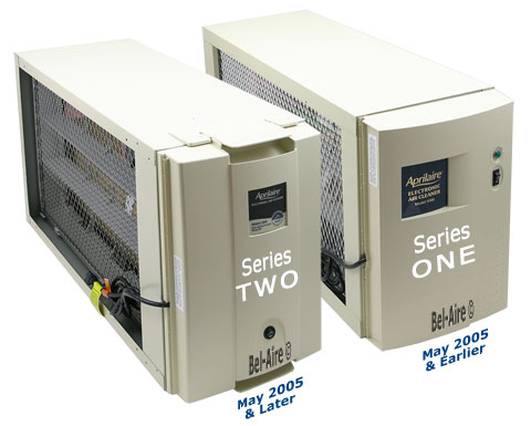 Difference between Aprilaire model 5000 series one and series two