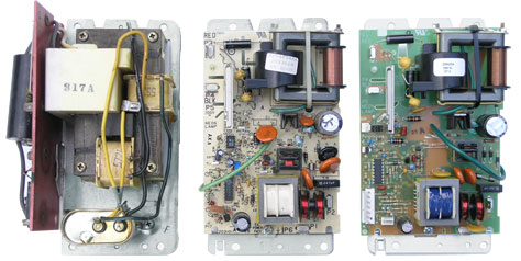 Evolution of the Honeywell Model F52 Power Supply