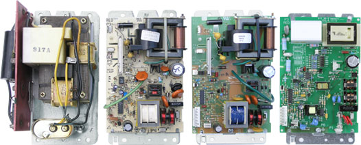 Evolution of the Honeywell F50 and F300 power supply