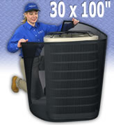 Permatron central air conditioning filter