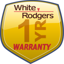 White-Rodgers One year Warranty