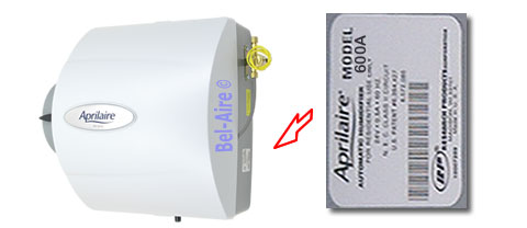 600A and 600M Humidifiers Tune Up Kit For Aprilaire Model 600