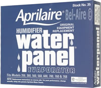 Aprilaire 35 Water Panel