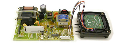 Honeywell f52 power supply with series two pin connection