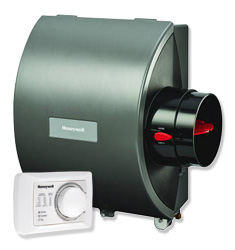 Honeywell he105a1000 12 gpd small bypass humidifier with manual.