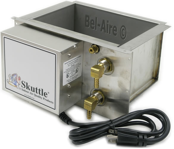 F60 1 Skuttle Steam Humidifier 1500w W Flushing Timer