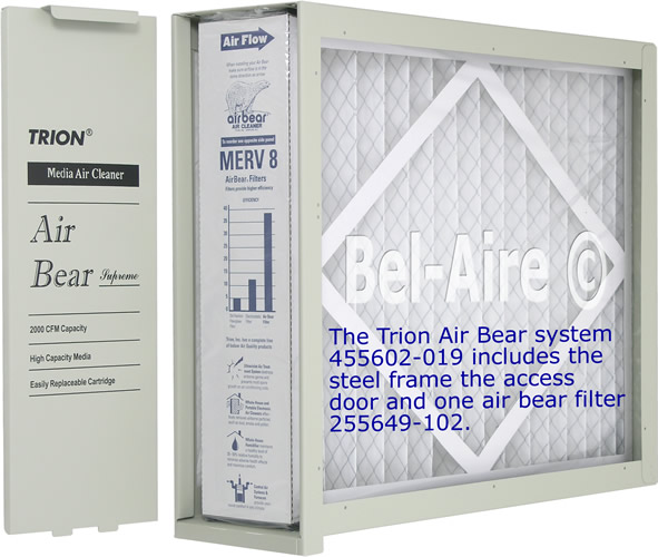 455602 019 Trion Air Bear Media Air Cleaner 20x25 455602 025