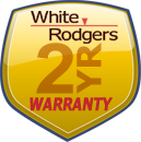 White-Rodgers two year warranty