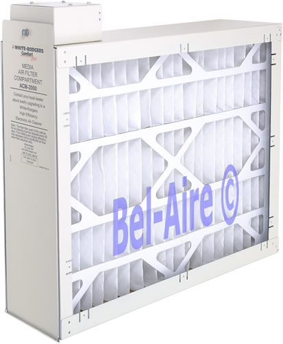 Bel Aire Acm2000 White Rodgers Media Air Cleaner 20 X 26